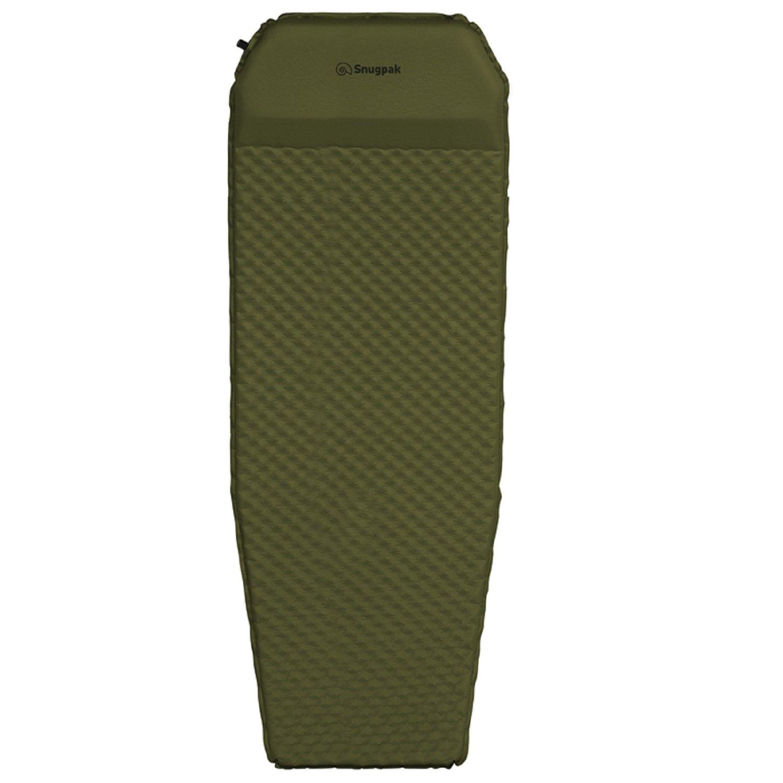 SnugPak SN91900CT-BRK Basecamp Air Mat W/Foot Pump Knife