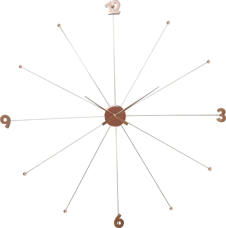 Kare Design Wanduhr Like Umbrella Chrome, Grosse, Moderne XXL XXL XXL Dekouhr, Designuhr, Rosegold (H/B/T) 100x100x6cm accd5d