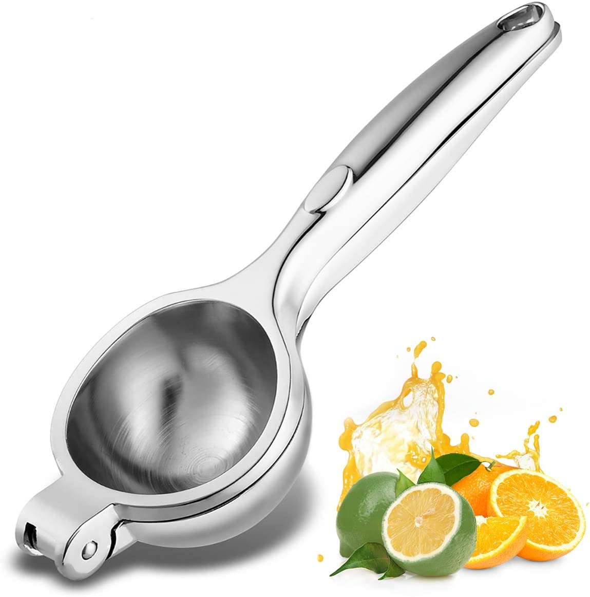 Manual Citrus Press Juicers,Stainless Steel Juicer Lemon Lime Squeezer,Lime Hand Juice Lemon Squeezer Press Citrus Juicers,Manual Hand Juicer Citrus Squeezer Extractor