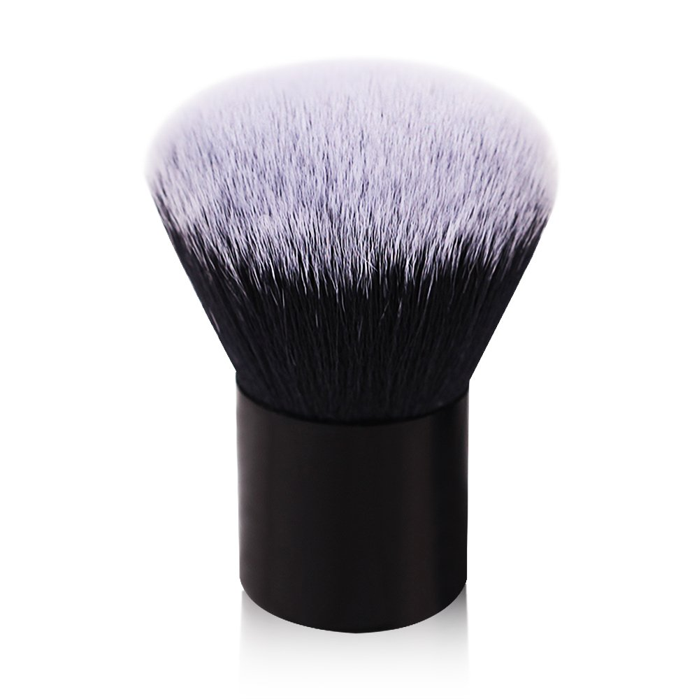 Kabuki Brush,Large Foundation Brush,Professional Face Brush,Soft Dense Synthetic Blush Brush,Premium Makeup Brushes for Mineral Stippling Liquid Cream Powder: Beauty