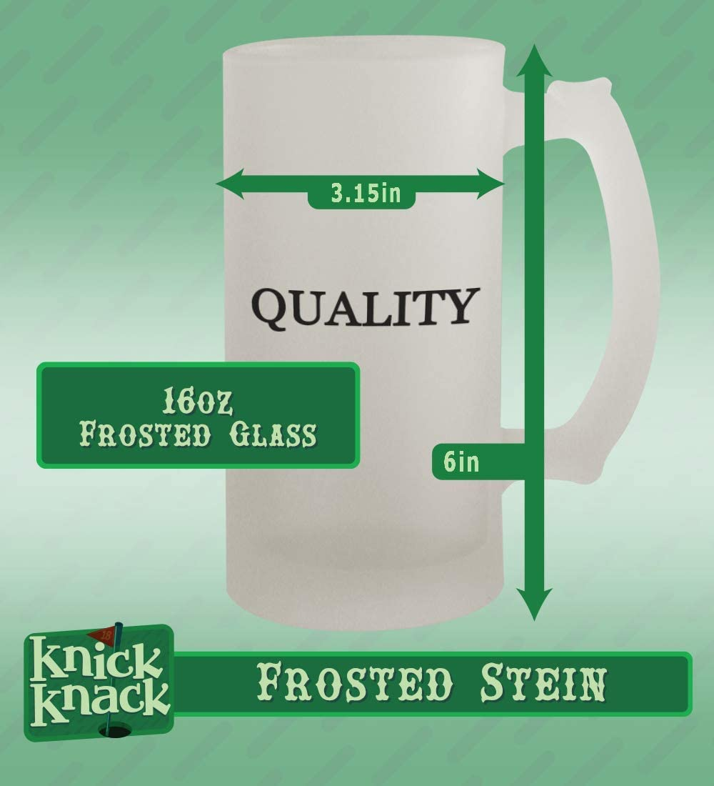 Frosted Let Go marcasite 16oz Frosted Beer Mug Stein