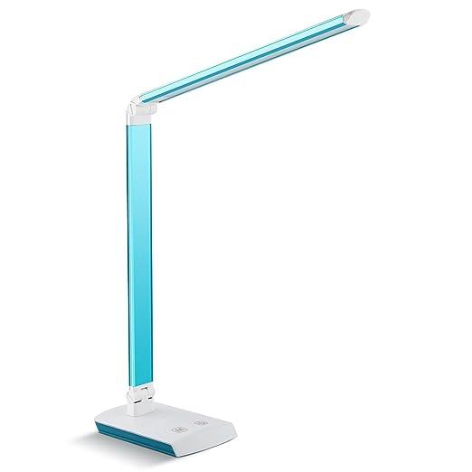 80 opinioni per DECKEY Lampada da Tavolo Pieghevole 60 LED Luce Dimmerabile 4W-10W, Lampada