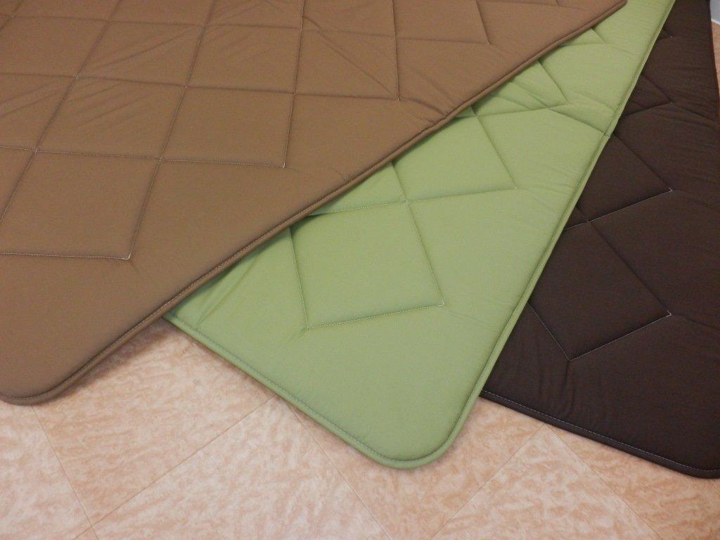 リビング こたつ 敷きふとん ラグ カーペット モデルノⅡ 日本製 (正方形(190×190㎝), ブラウン) B076GZ7RBQ ブラウン 正方形(190×190㎝)