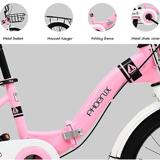 Bicicletas Plegable para Niños Plegable para Estudiantes De 16 ...