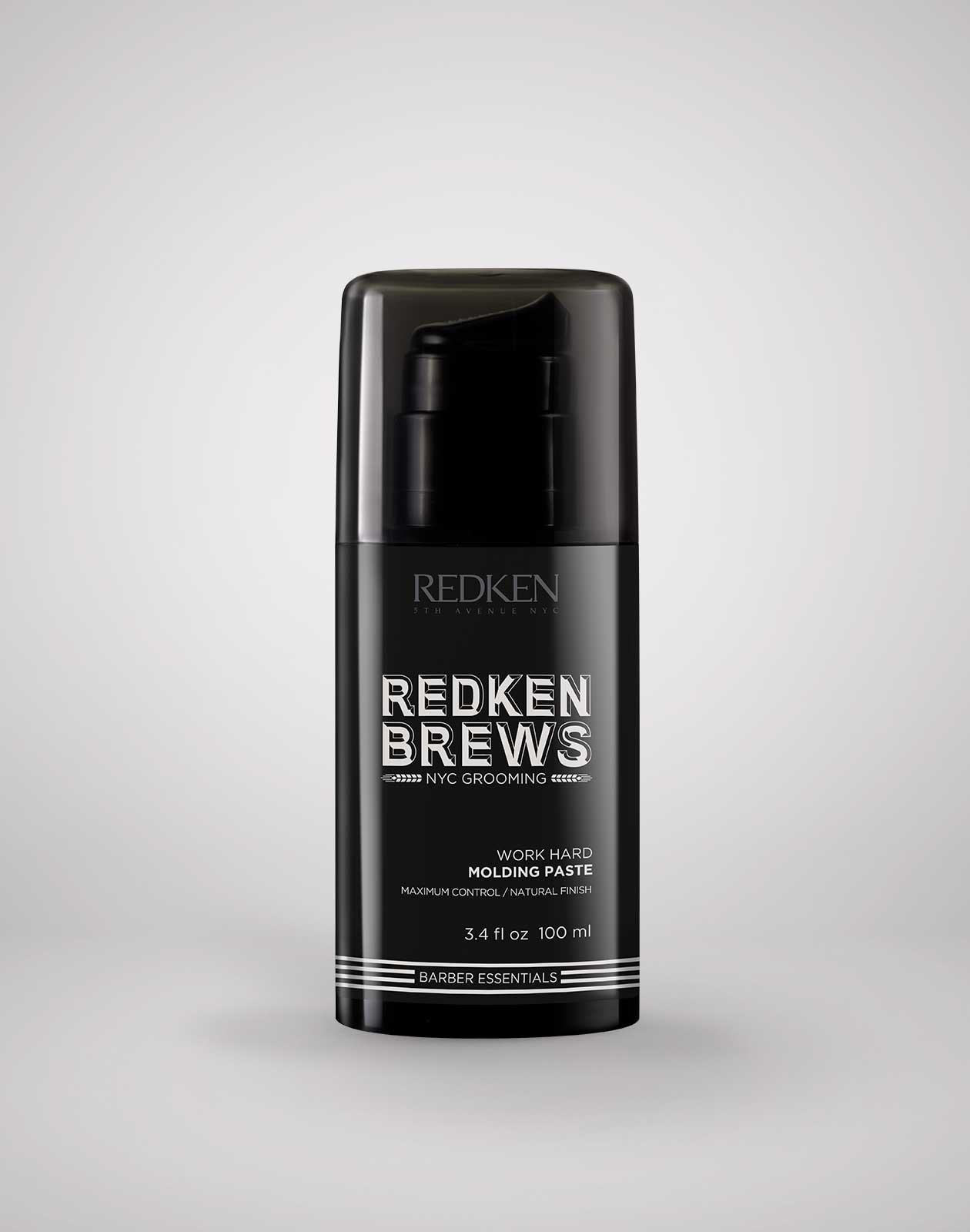 Redken Brews Work Hard Maximum Control Molding Paste 3.4 oz.