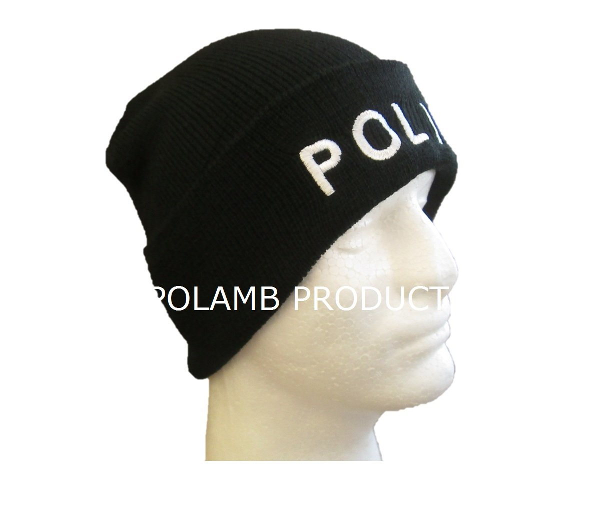 0af98165d110 Bonnet Laineux Chapeau Noir Brodé