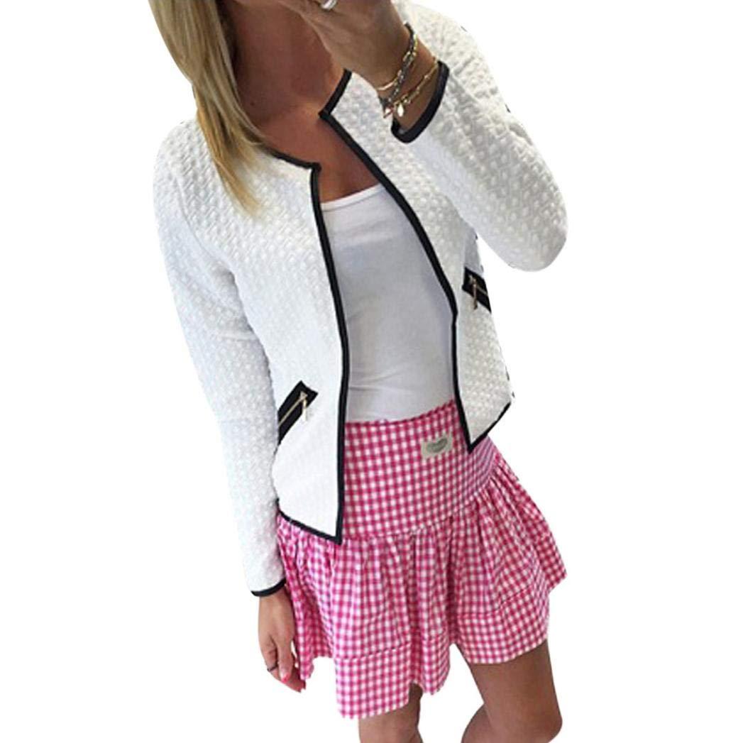 vavomy Cardigan Sweaters for Women, Women Clearance Sale Long Sleeve Lattice Tartan Cardigan Top Coat Jacket Outwear Blouse (M, Gray)