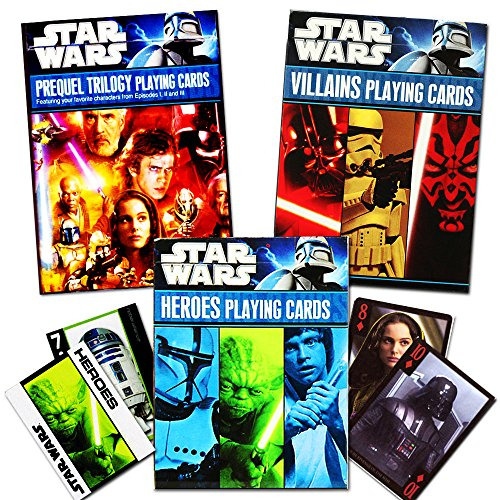 Star Wars Classic Trilogy Playing Cards - Set of 3 Decks