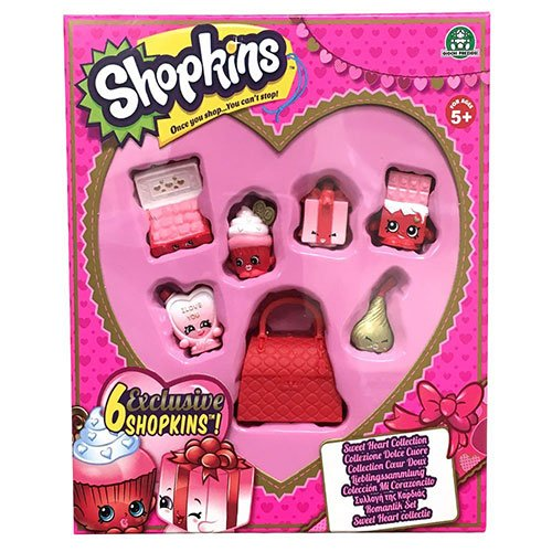 Shopkins Sweet Heart Collection Toy (Valentines Day Gifts For Girls)