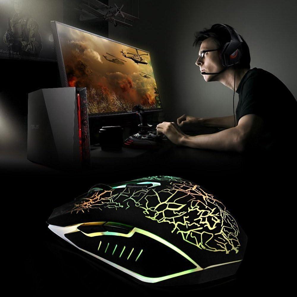 VersionTECH Ratón Gaming con Cable