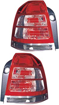 Rückleuchte Heckleuchte Set Links Rechts Rot P21w Py21w Ohne Lampenträger Für Model Zafira B A05 Auto