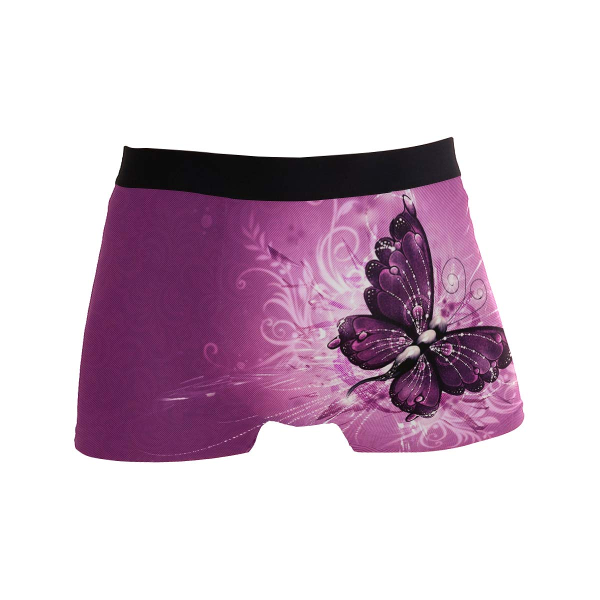 Beautiful Butterfly Boxer Briefs Mens Underwear Pack Seamless Comfort Soft