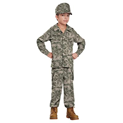 California Costumes Soldier Costume, One Color, 8-10: Toys & Games