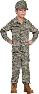 California Costumes Soldier Costume, One Color, 6-8