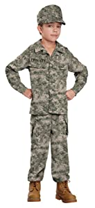California Costumes Soldier Costume, One Color, 10-12