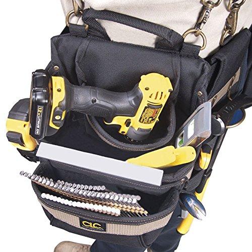 CLC Custom Leathercraft 1614 20 Pocket, Heavy Duty Framers 5-Piece Comfortlift Combo Tool Belt System