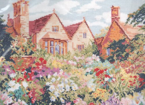 House and Garden - Counted Cross Stitch Kit - Adapted from S