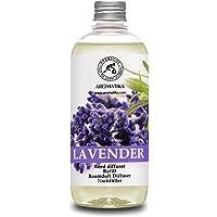 Navulling Geurstokjes Lavendel 500ml - Intensieve - Verse Langdurige en Frisse Geur - Verdampingsduur van 50 weken…