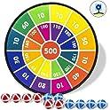 Gdaytao Dart Board Games with 12 Sticky Balls