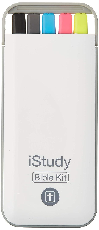 Kit biblia de estudio: 3 marcadores, 1 lapiz, 1 lapicera xsr