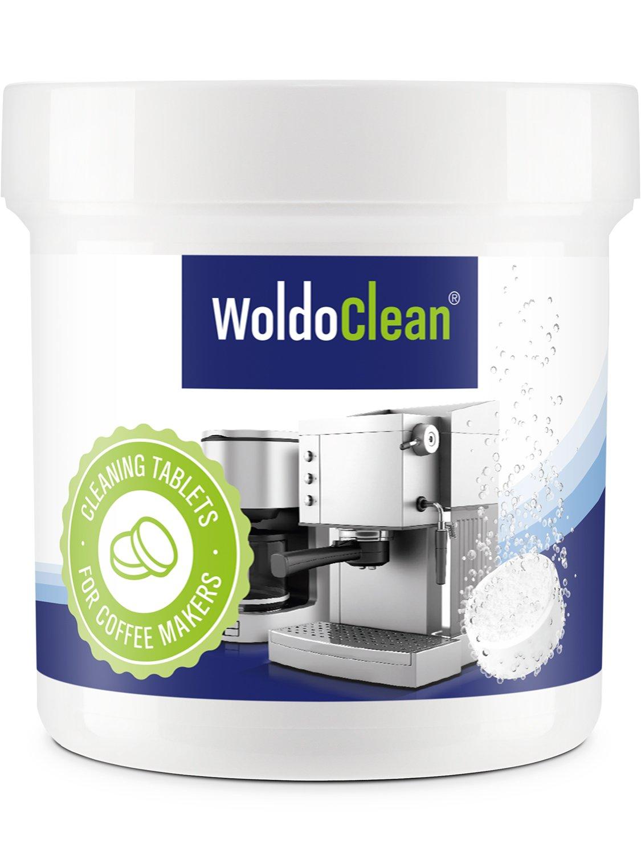 Pastillas para la limpieza de cafeteras automáticas - 3x 40x tabletas limpiadoras compatible con marcas, Delonghi, Dolce Gusto, Nespresso, Seaco, Krups, ...