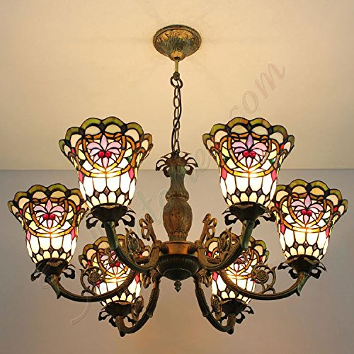 ETERN Retro Palace Chandeliers Pendant Light 6 Lights