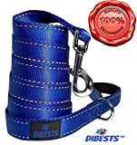 #8: Extra Heavy Dog Leash Durable and Premium Quality,Reflective,Padded Handle - 6 ft Long Perfect for Everyday Training Walking Running Best For XL/ Large/Medium/Small Pet