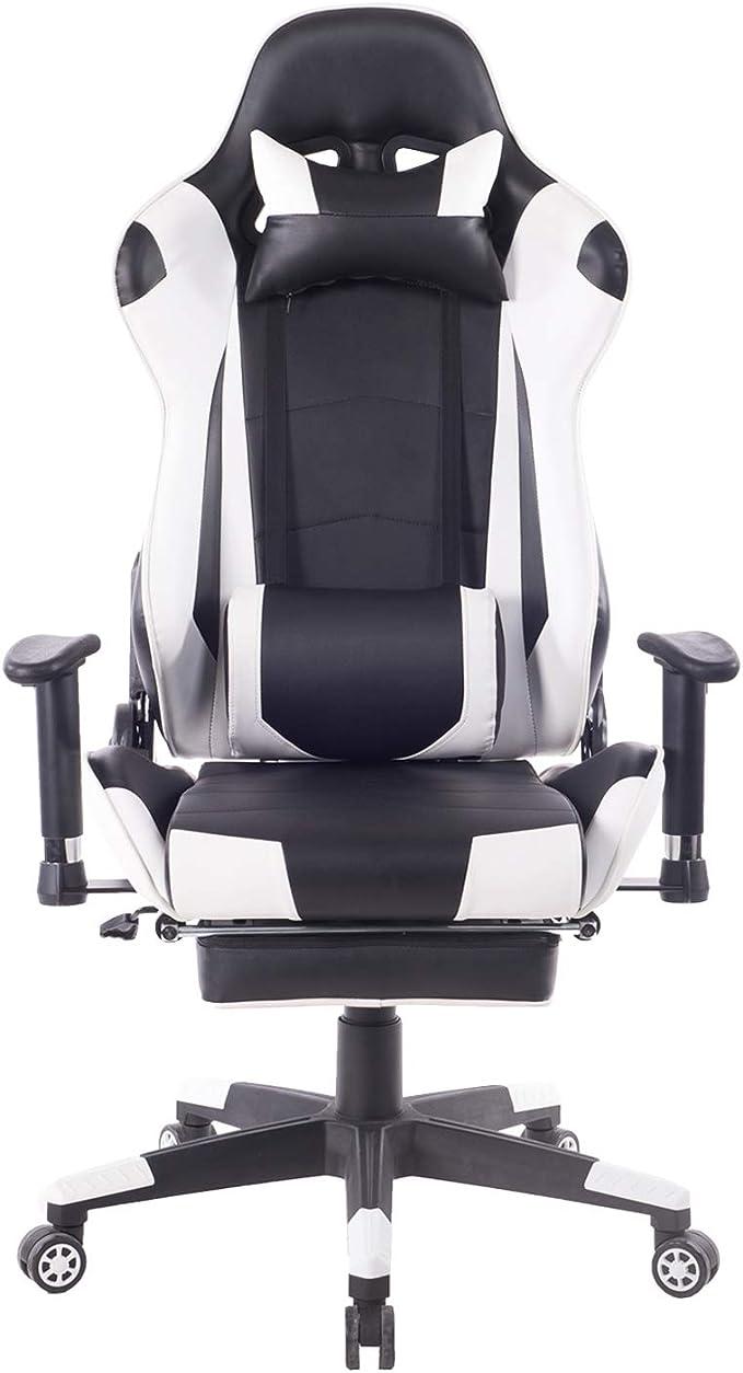HEALGEN Back Massage Gaming Chair
