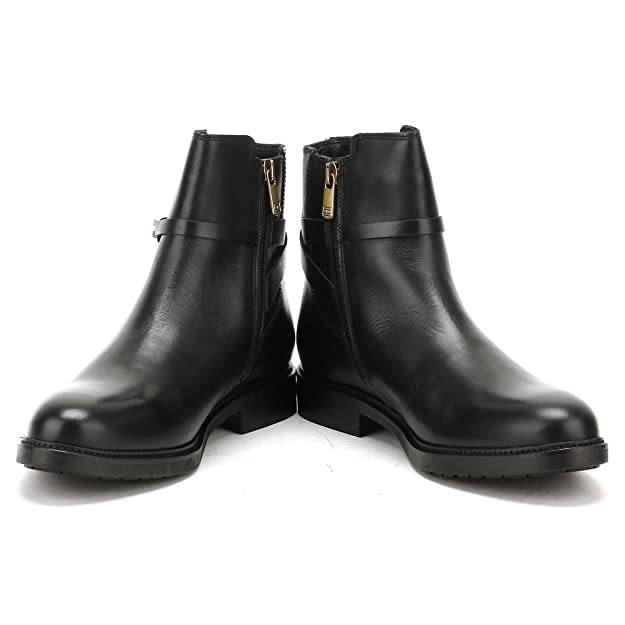 b1878fc4767 Tommy Hilfiger Holly Boots Black: Amazon.co.uk: Shoes & Bags