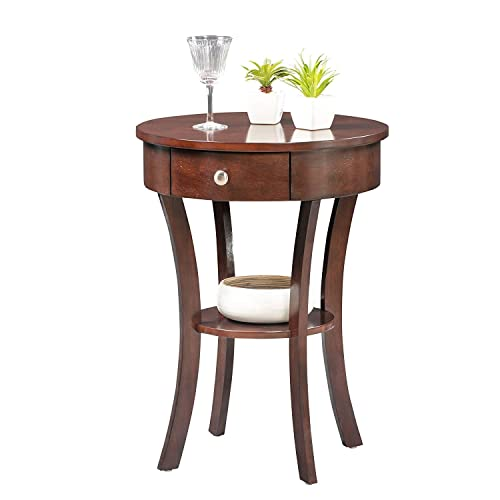 Convenience Concepts Classic Accents Schaffer End Table, Espresso