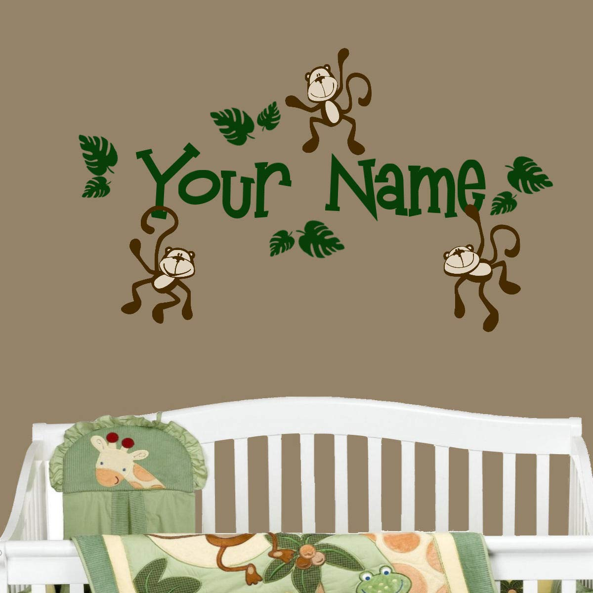 Monkey Personalized Name Only custom order
