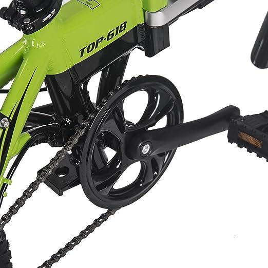 Eléctrico bicicleta Richbit plegable bicicleta de ciudad con 250 W * 36 V * 10.2Ah larga duración 14