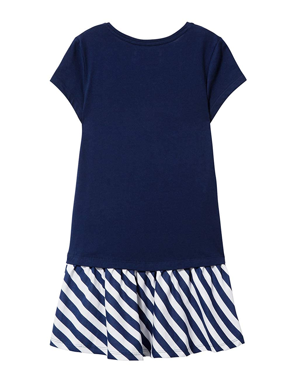 Desigual Girl Knit Dress Short Sleeve Vest/_Carson Vestido para Ni/ñas