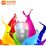 Xiaomi Mi LED Smart Bulb E27,Smart LED Colorful Light Bulb with 16 Million Colors and App Remote Control,with Alexa and Google Assistant