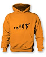 Evolution Of Silly Walks Kids Hoodie