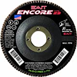 United Abrasives- SAIT 79109 Encore Type 29 Flap Disc, 4-1/2 X 7/8 Z 80X, 10 Pack