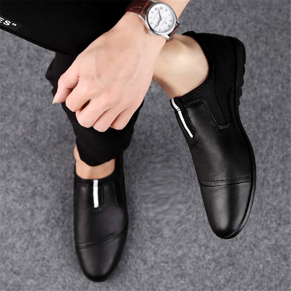Herren Müßiggänger Casual und Low Top Top Top Einzelnähte leichte Mokassins,Grille Schuhe (Farbe   Weiß, Größe   44 EU)  cb9bd0