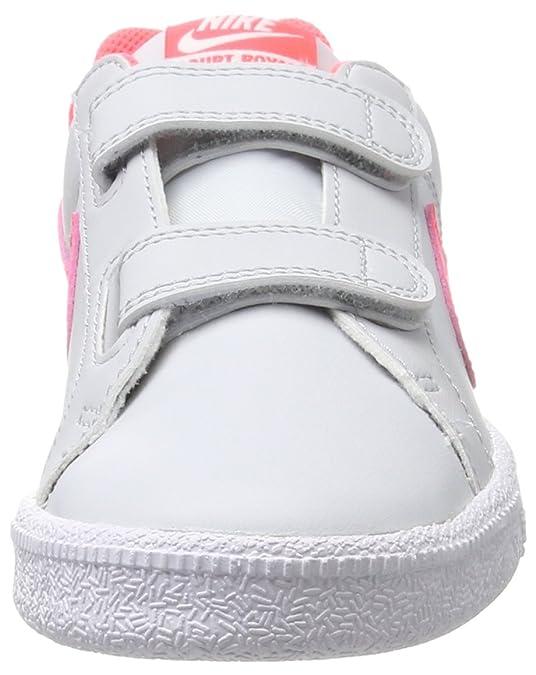Nike Court Royale (PS), Zapatillas para Niñas, Gris (Pure Platinum/Hot Punch-White), 27.5 EU