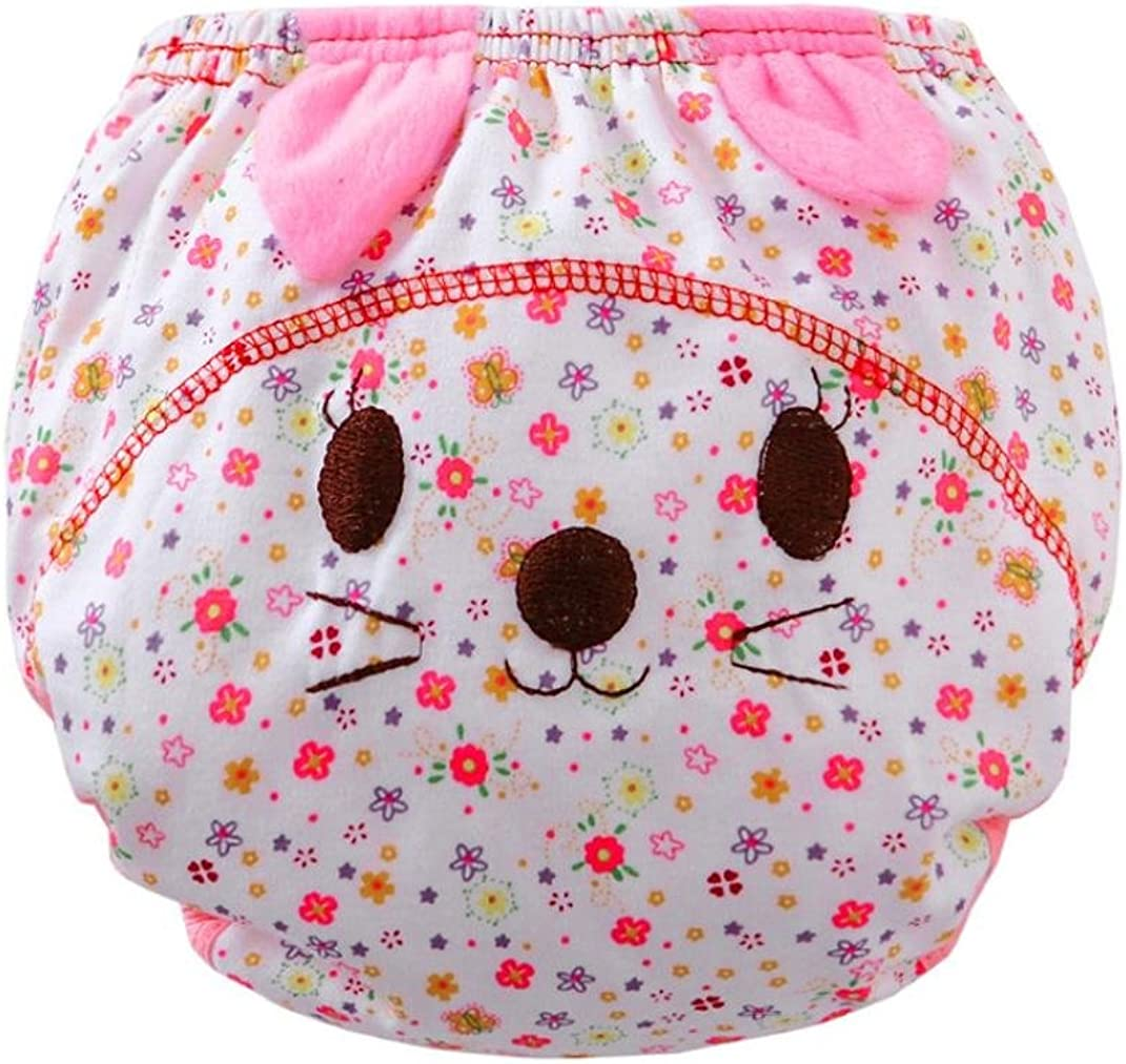Ouneed Cute Baby Girls Baby Boys Infant Kids Animal Cartoon Briefs Diaper Cover Pants
