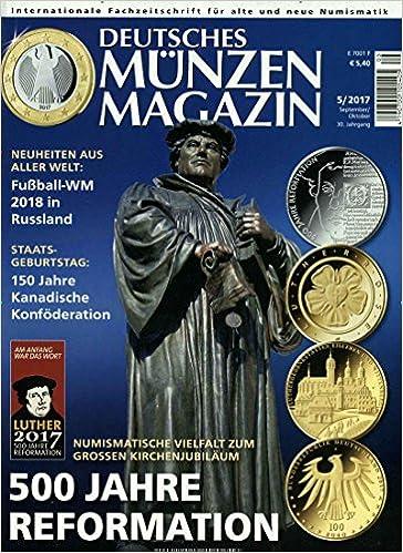 Deutsches Münzen Magazin Jahresabo Amazonde Dr Med Georg