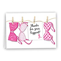 Fundraising For A Cause | Breast Cancer Awareness Pink Note Cards- Breast Cancer...