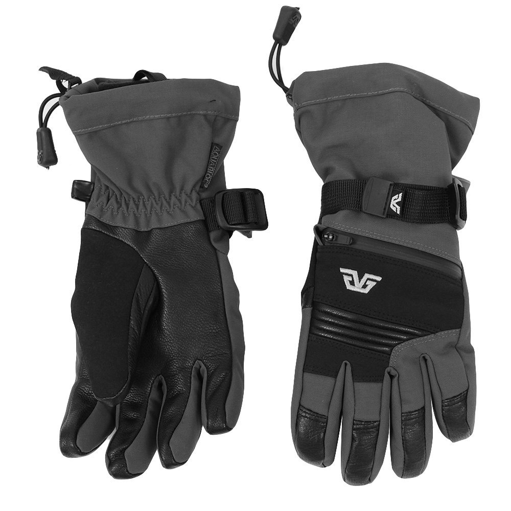 Gordini Junior Maverick Gloves Gunmetal/Black S