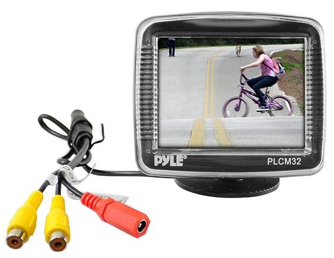 Amazon.com: Pyle coche medio de copia de seguridad cámara de ...