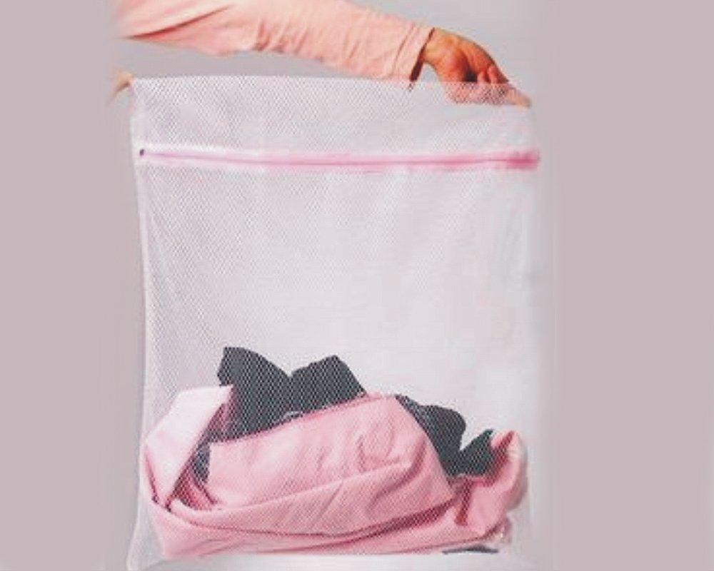 BONAMART 洗濯ネット 洗濯物用 メッシュバッグ 靴下 ランジェリー デリケートなお手入れに ファスナー付きバッグ 50x60cm B00AQBNYHY