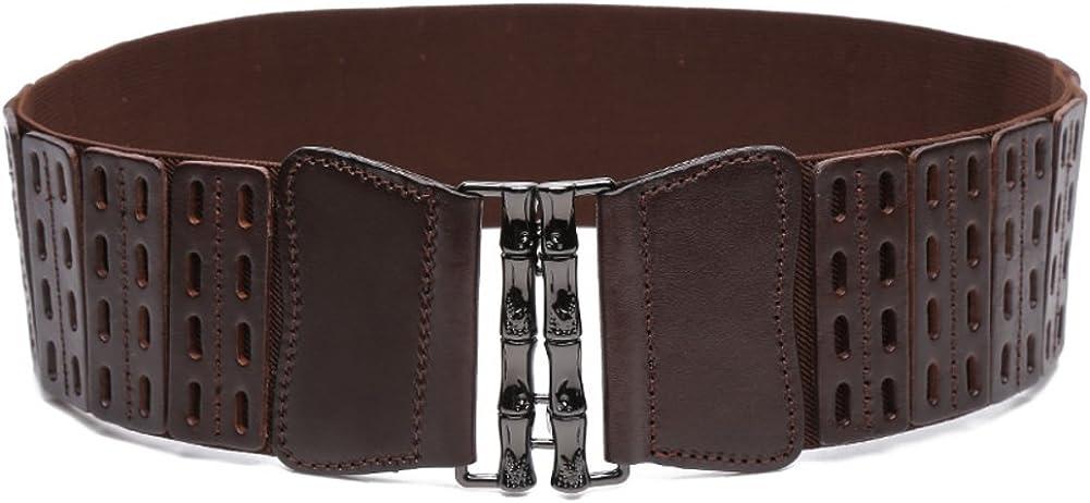 JIEJING Ladies Bow Belt,Wild Of Tightness Belt Stylish Stretch Belt Decoration Dress Belt