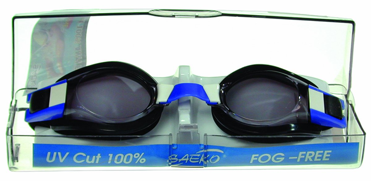 Marine Sport Goggles with Travel Case, Soft Silicone by Marine Sport