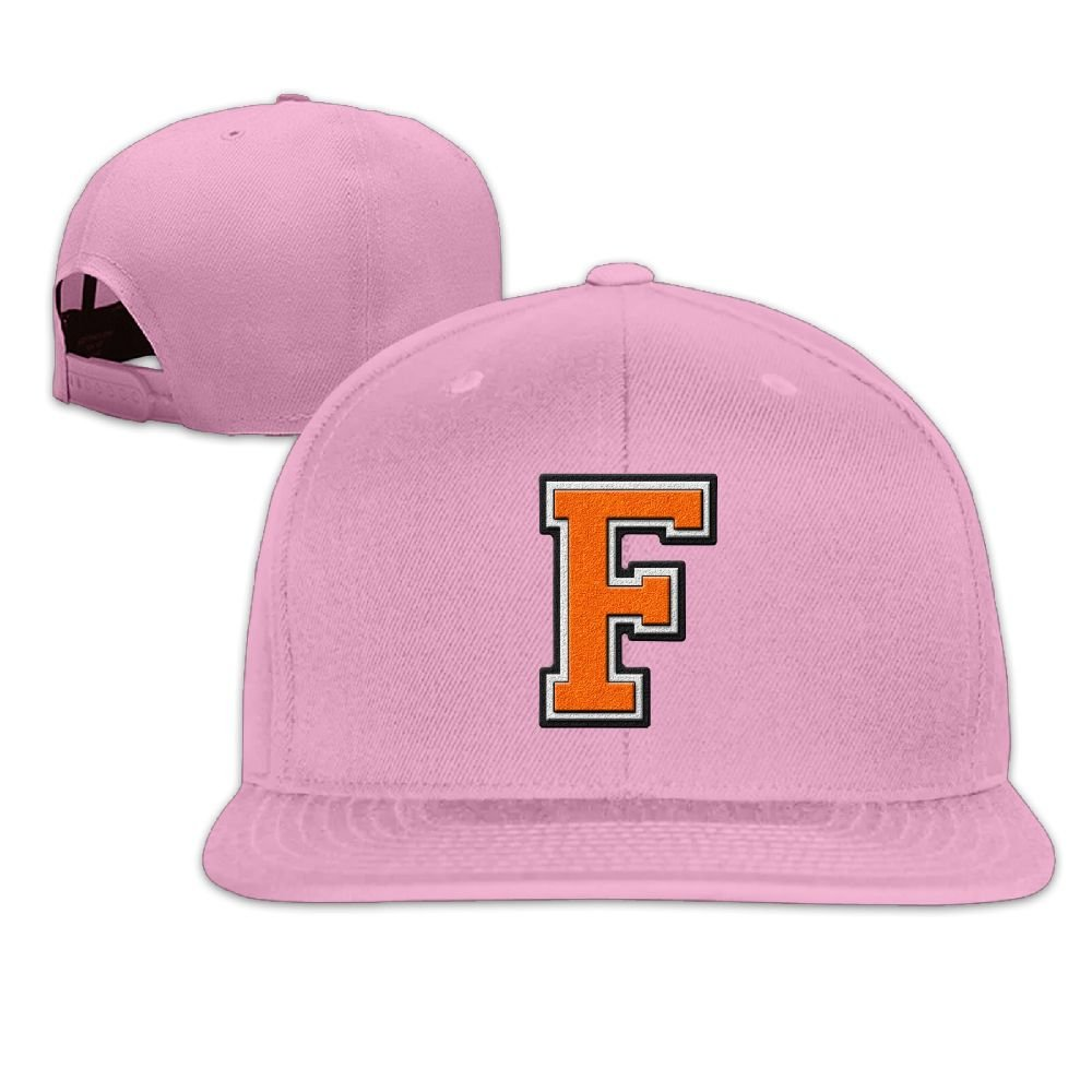 Letter F Classic Cap -Cotton Blend Flat Visor at Amazon Men\'s ...