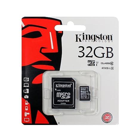 Sony Xperia XZ1 Tarjeta de Memoria microSDHC 32GB, Clase 10, Full ...