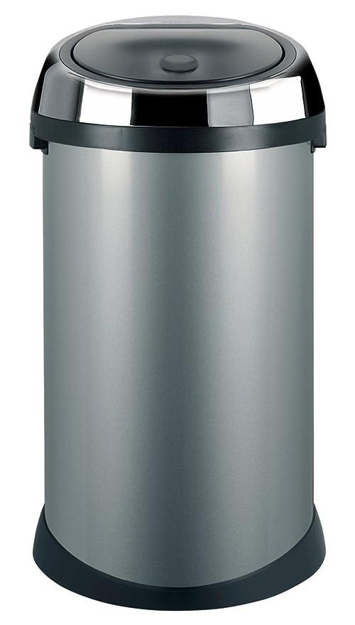 Brabantia Touch Bin 40 50 Liter.Brabantia Touch Bin 50 L Metallic Grey