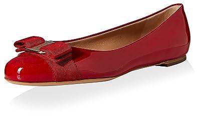 c3157907c6c9a Amazon.com: SALVATORE FERRAGAMO Women's Varina: Shoes